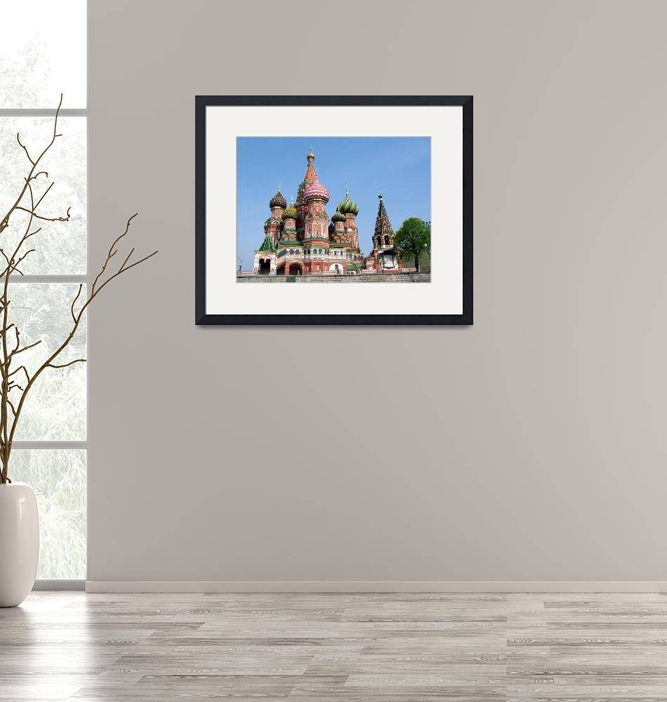 """""""Cathedral of St Basil the Blessed""""  (2007) by DonnaCorless"""