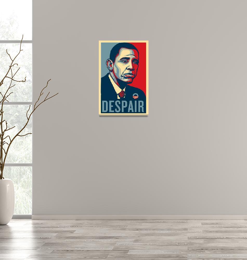 """Sad Obama Despair""  (2011) by libertymaniacs"