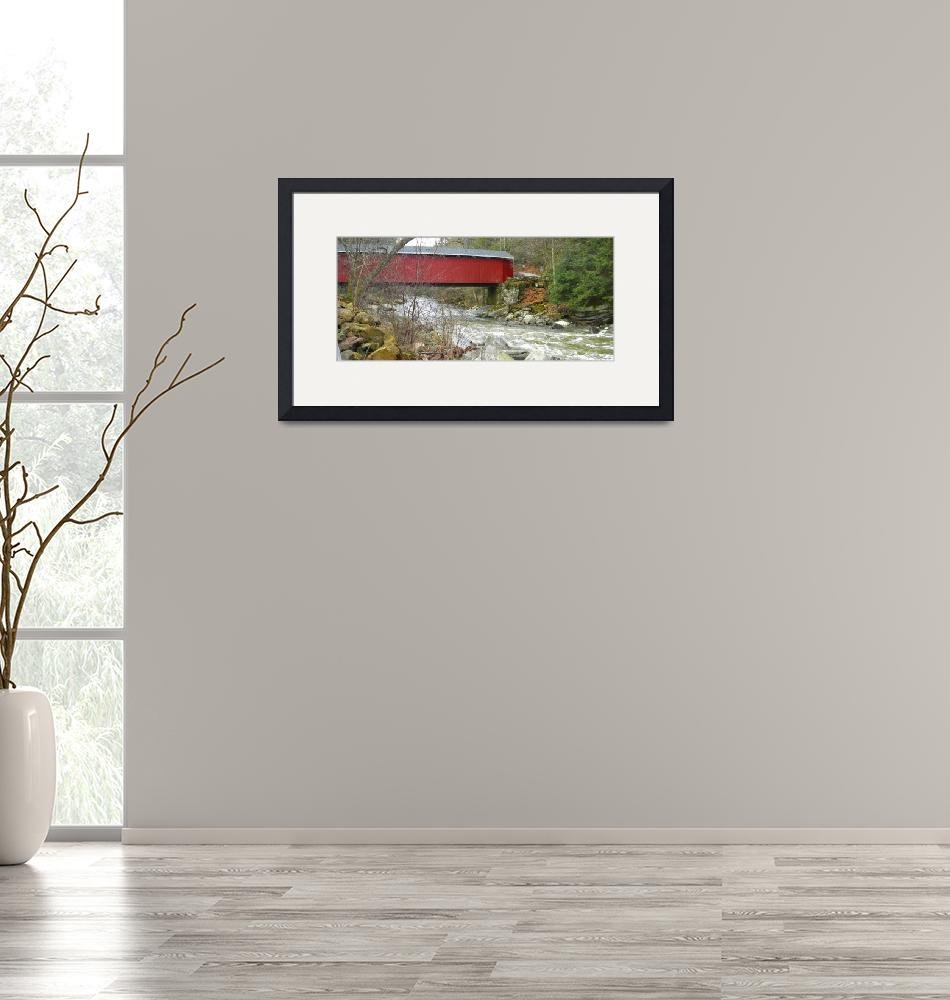 """""""McConnells Mill Bridge""""  (2010) by Photos4Ever"""
