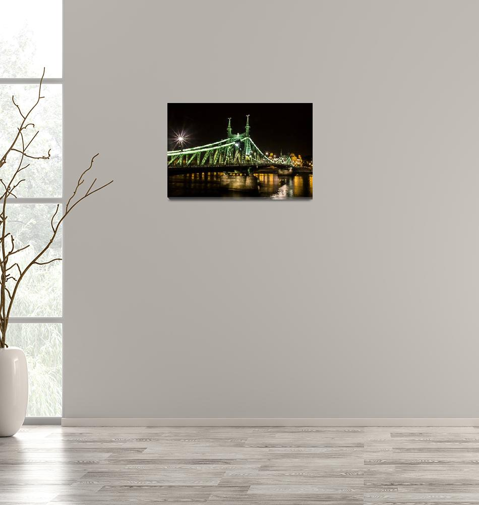 """Liberty Bridge, Budapest""  (2013) by lpehuleh"