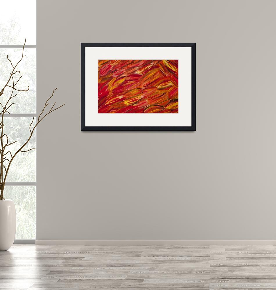 """""""Autumn Leaves""""  (2012) by lisakyleyoung"""