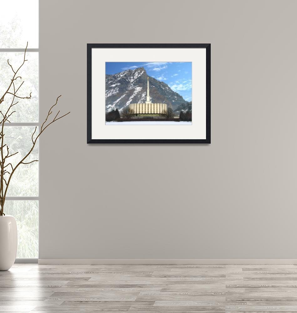 """""""Provo temple""""  by TerrySpringer"""