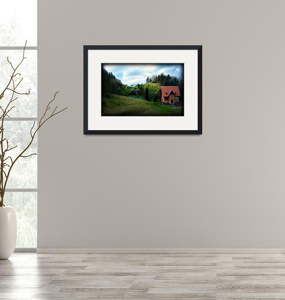 """""""A Countryside View""""  (2008) by PhilFarber"""