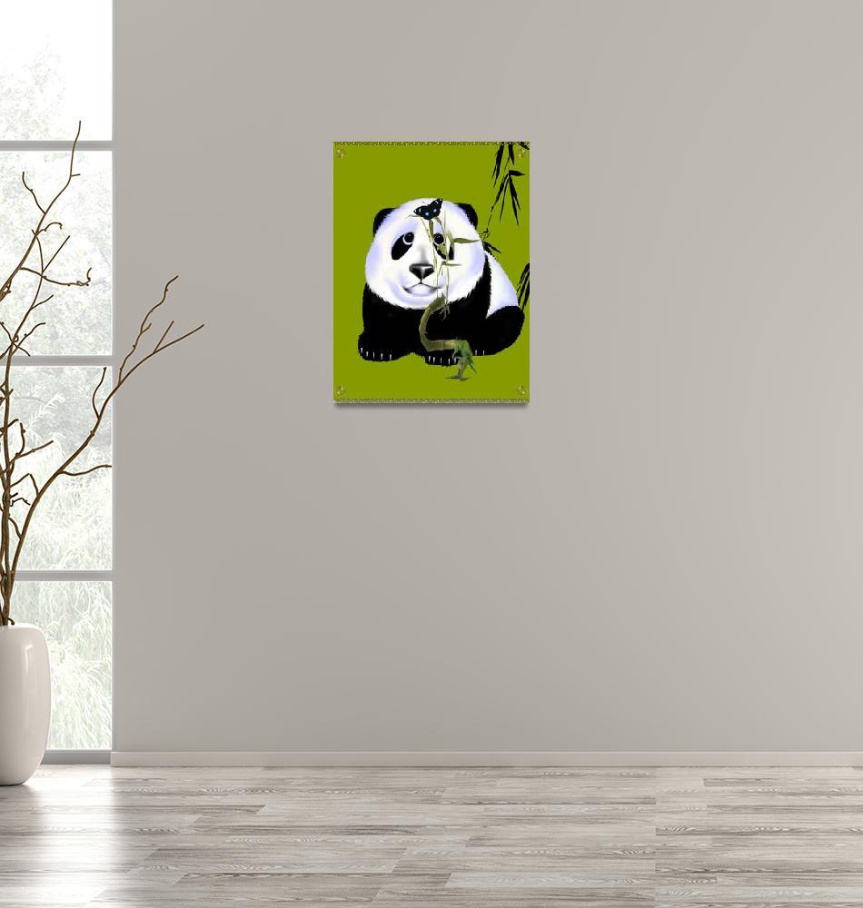 """Baby Panda""  (2007) by Lotacats"