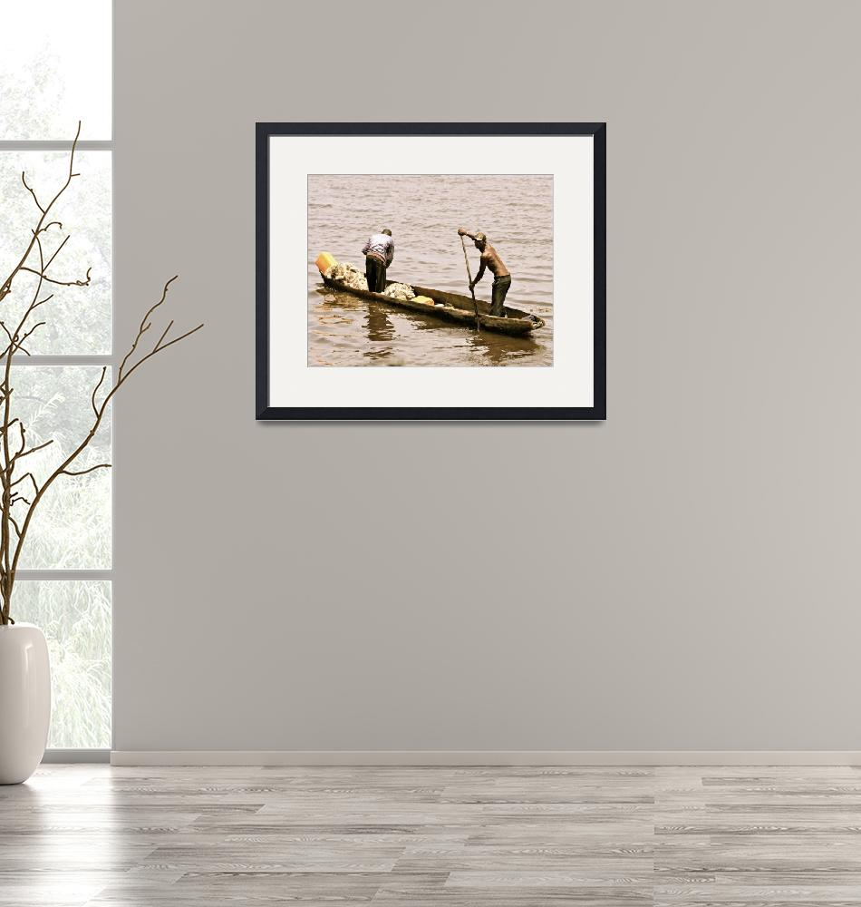 """""""Fishers on the Congo River""""  by andreea_gerendy"""