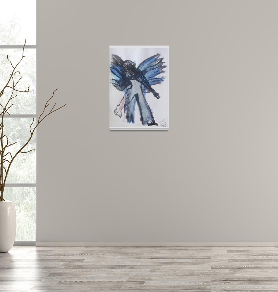 """""""The Blue Angel Alice_Claudia_ Iordache A4""""  (2016) by AliceClaudia"""