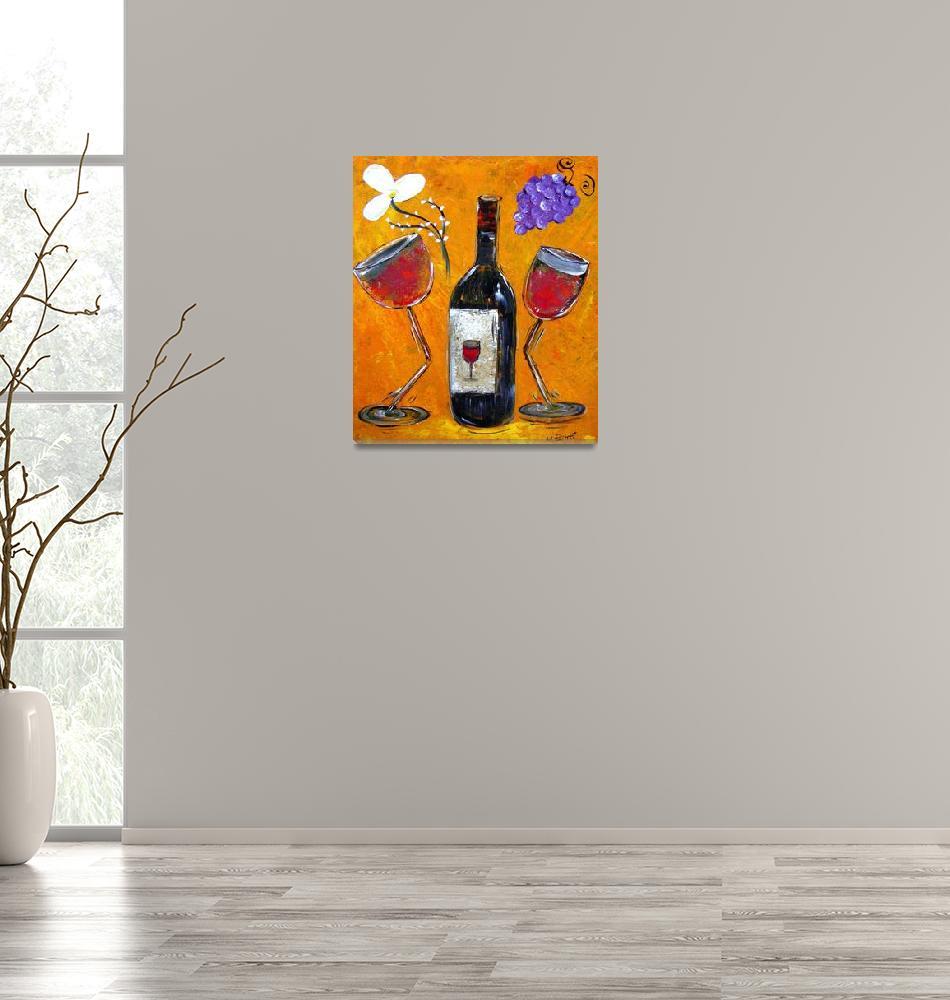"""Wine Affair""  (2009) by MaggieBernet"