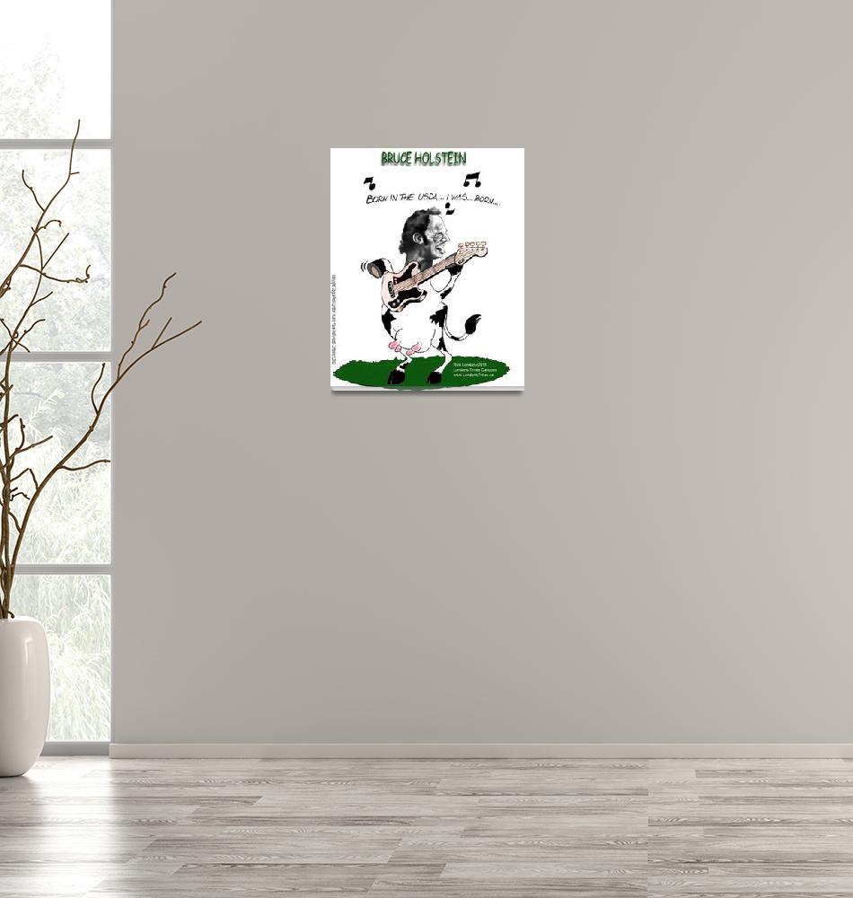 """Bruce Holstein: Born In The USDA""  (2003) by RickLondon"