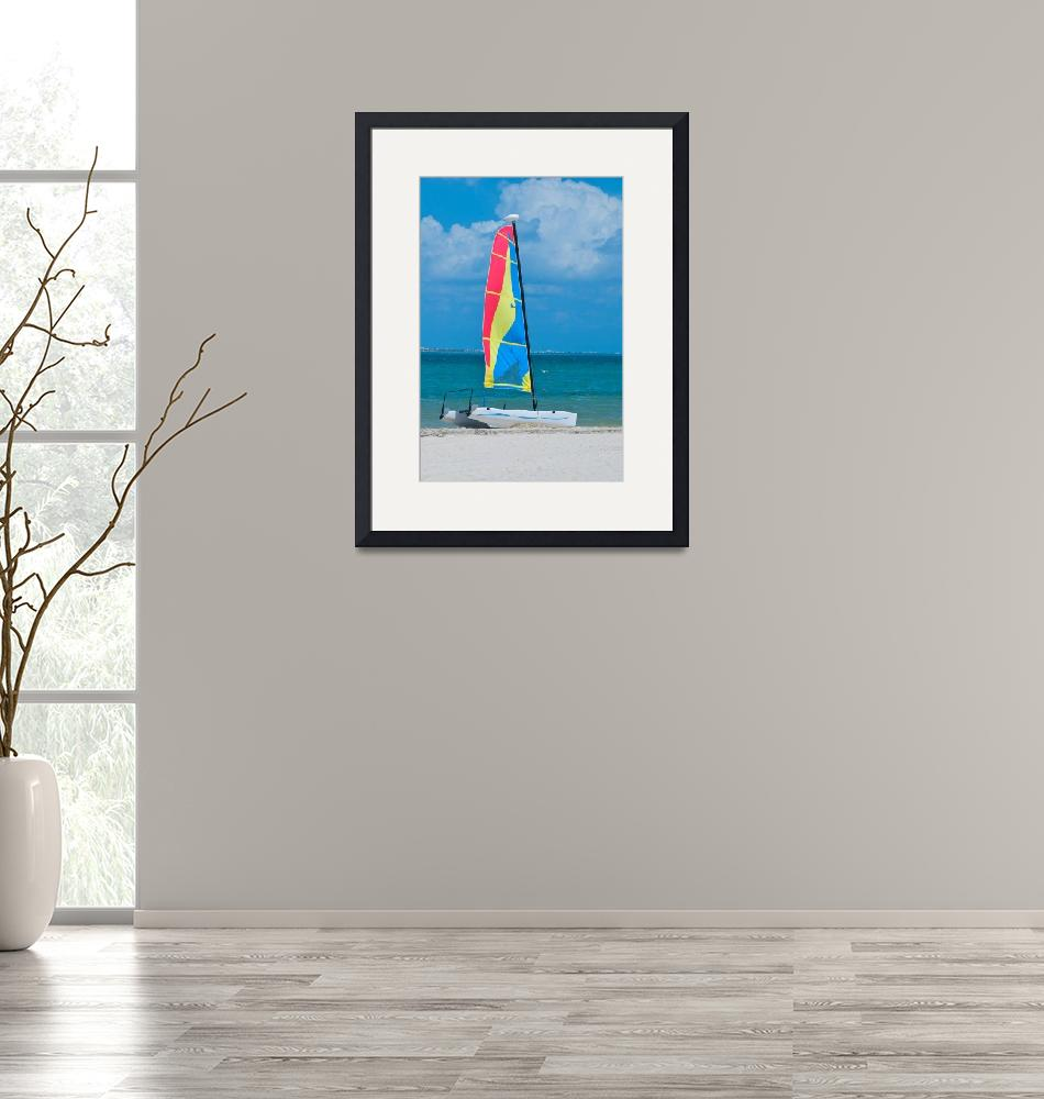 """""""Sailing in the Caribbean""""  (2009) by ImageArt-Photography"""