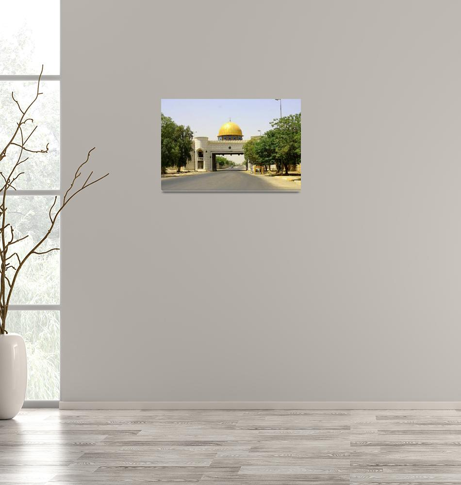 """""""The Golden Gate, Baghdad""""  (2010) by CharlesBuchanan"""