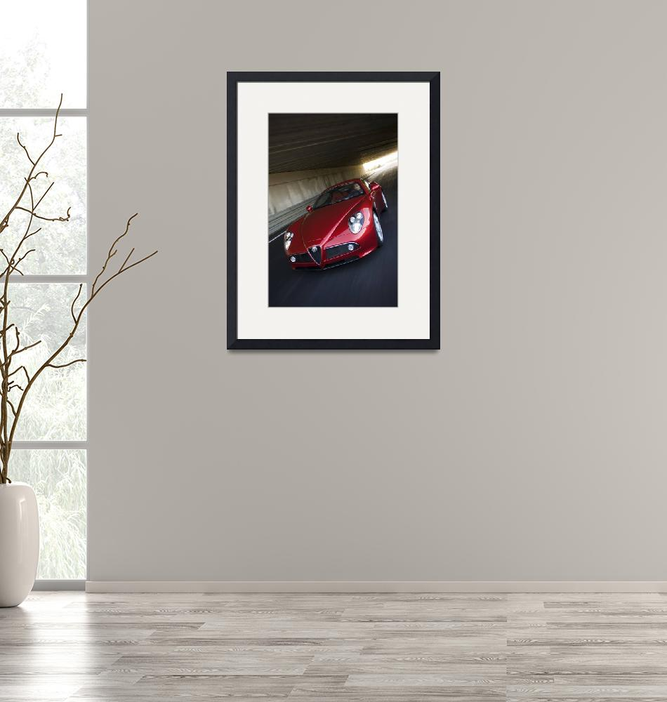 """ALFA ROMEO 8C COMPETIZIONE 2008""  by roadandtrackphotos"