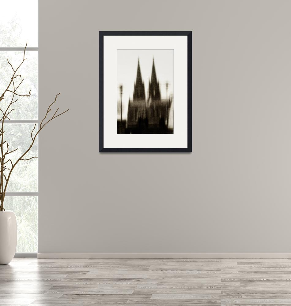 """""""Two towers""""  (2014) by ginton"""