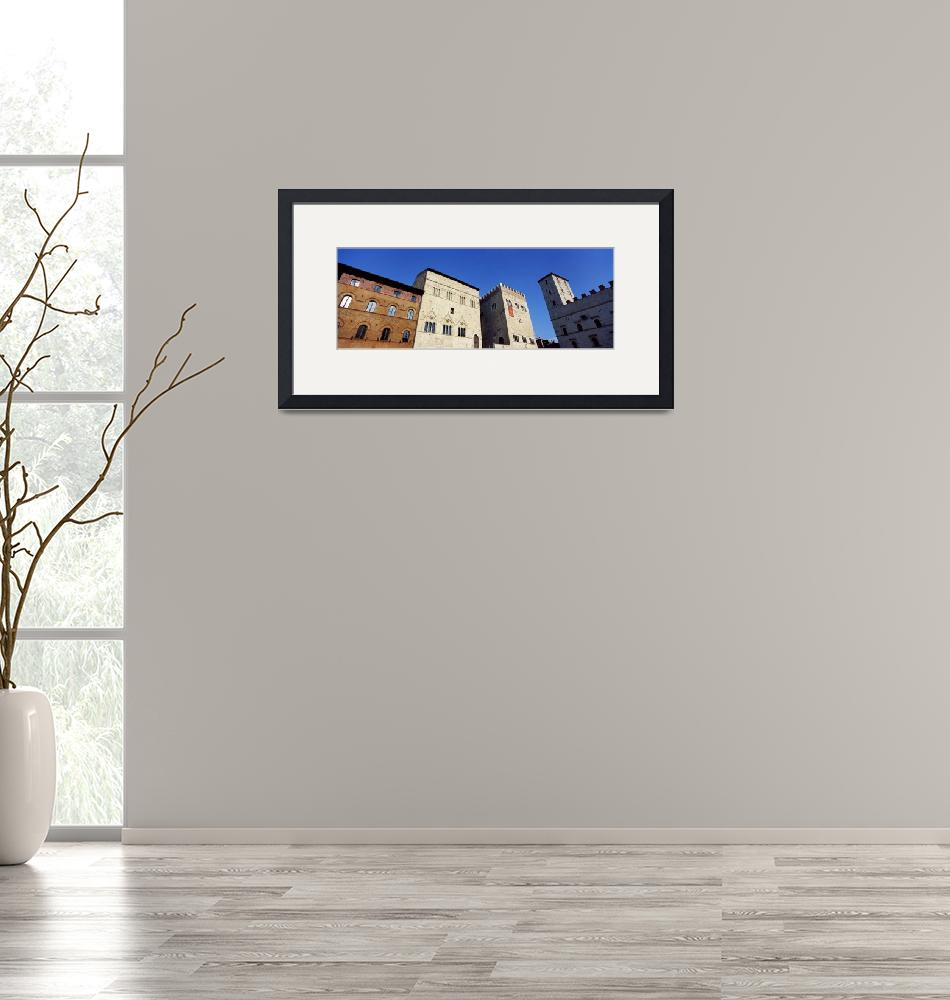 """""""Low angle view of buildings at a market square""""  by Panoramic_Images"""