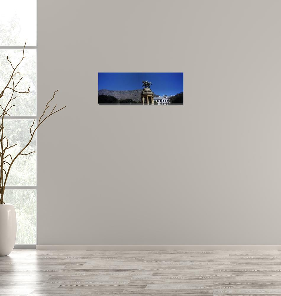 """War memorial with Table Mountain in the backgroun""  by Panoramic_Images"