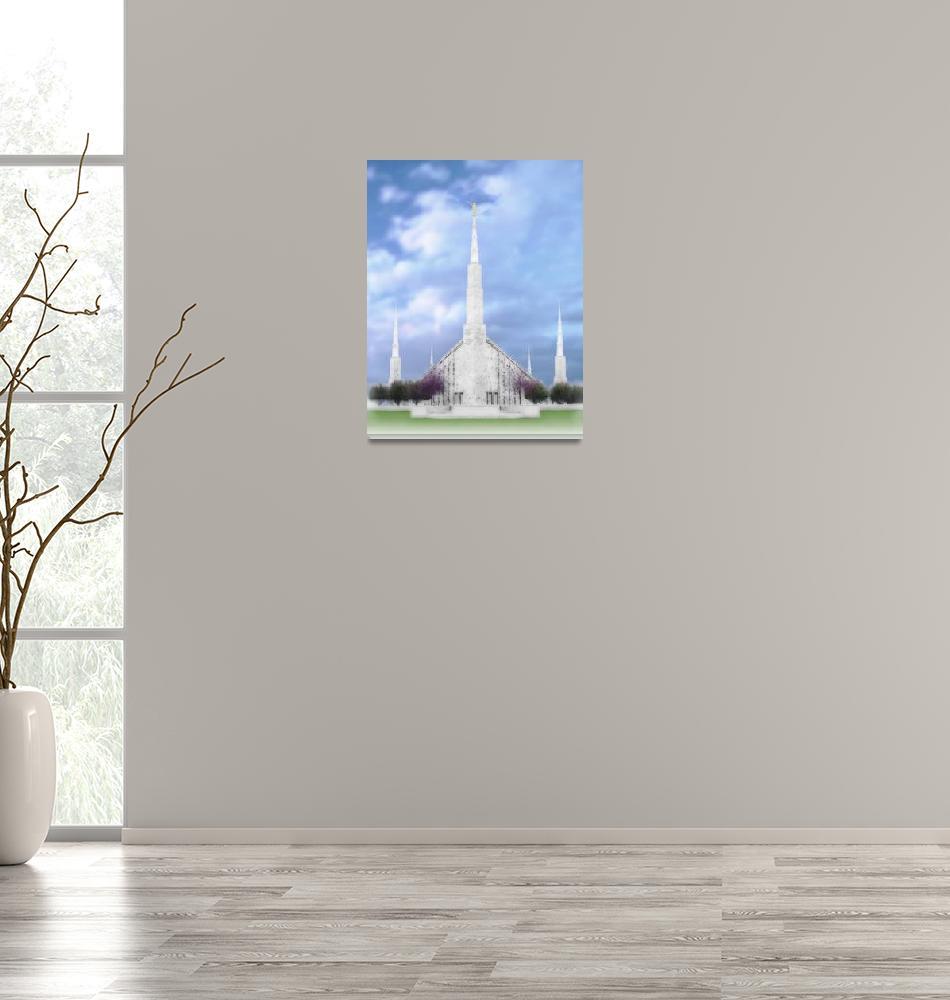 """Boise Temple""  by TerrySpringer"
