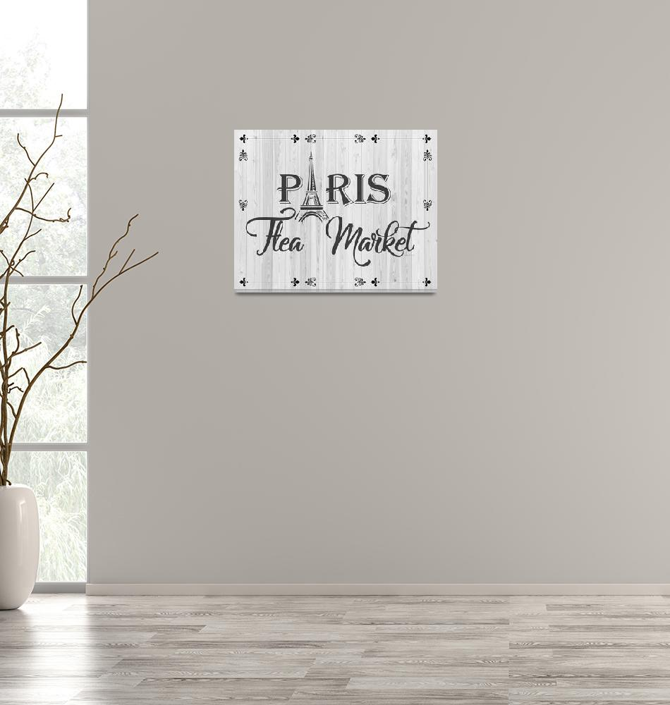 """PARIS FLEA MARKET""  (2019) by Studio8974"