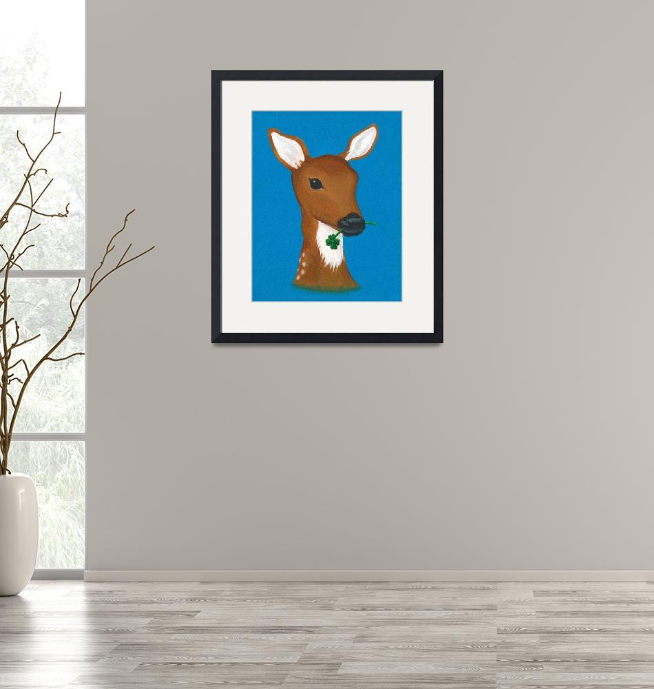 """OhDeer"" (2011) by LibbyJohnston"