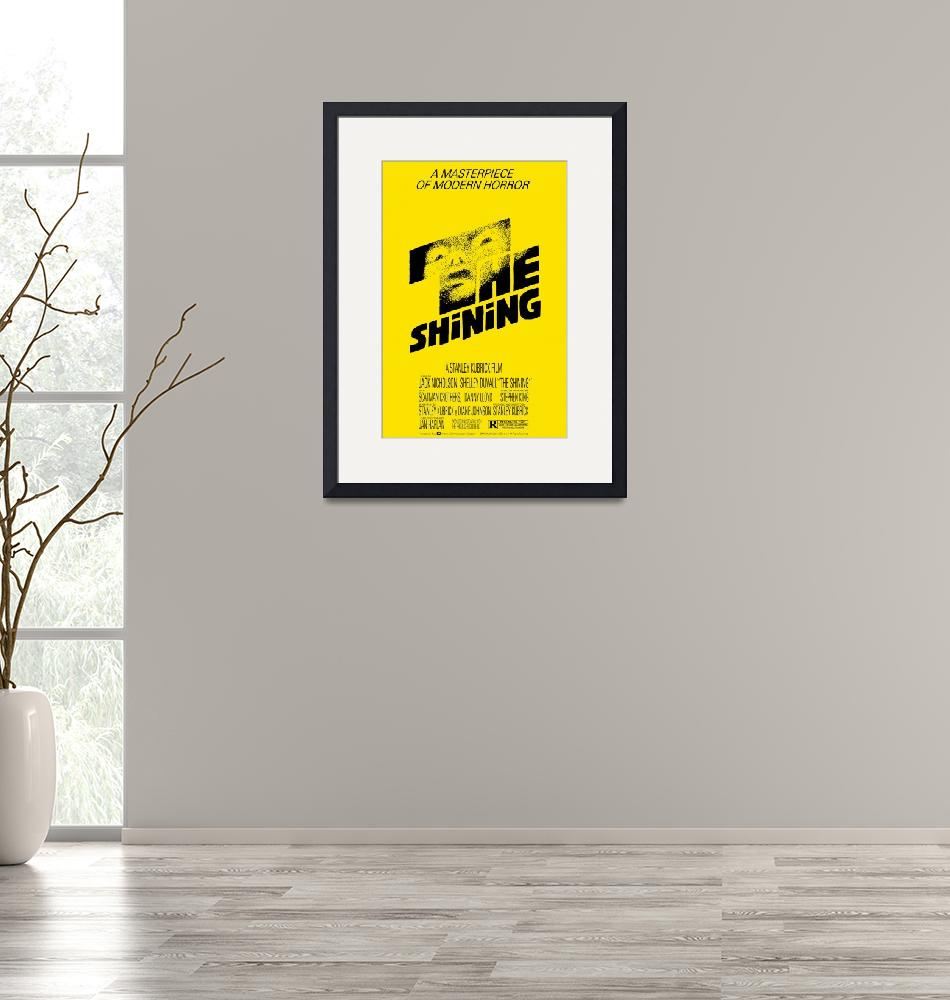 """""""The Shining Poster - Yellow""""  (2019) by KulturArts"""