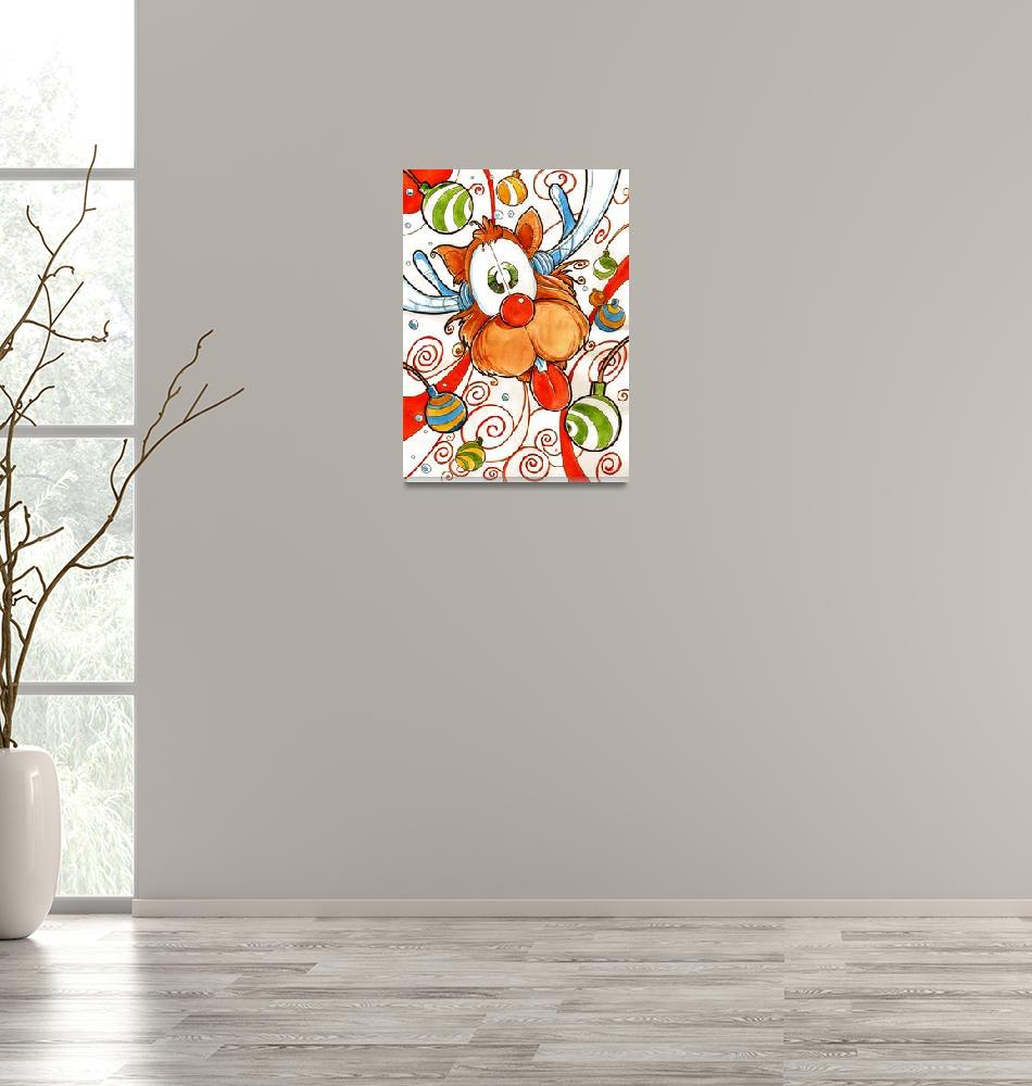 """""""Rudolph the Red Nose Deer""""  (2006) by LuisPeres"""