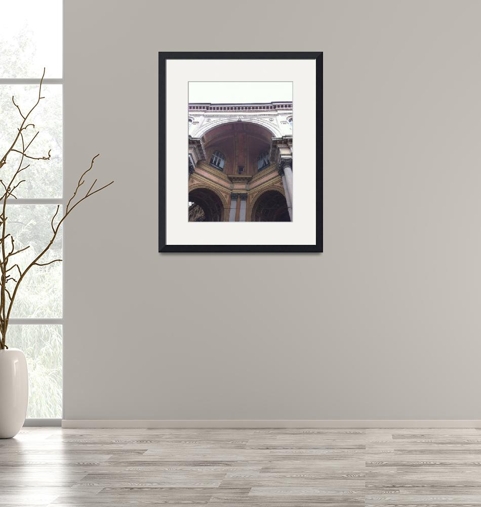 """""""Milan arches""""  (2013) by bluecavecreations"""