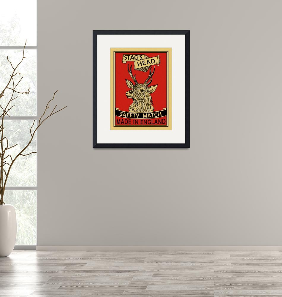 """""""The Vintage Stags Head Matches""""  by mark-rogan"""
