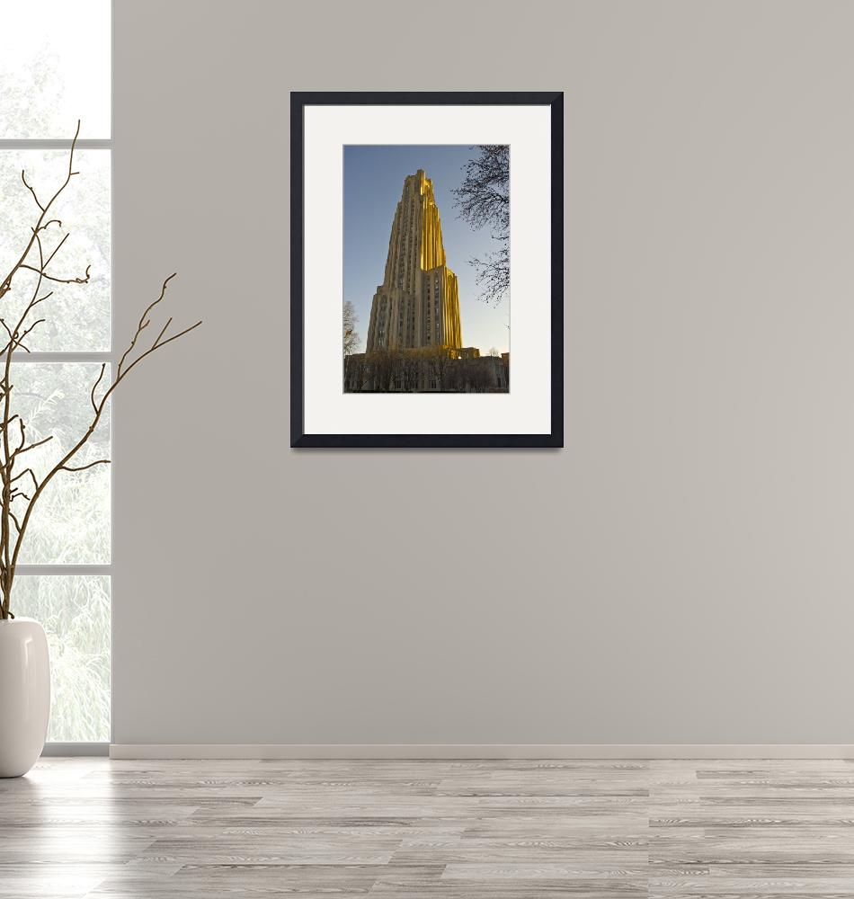 """""""Cathedral of Learning""""  (2011) by yakk0dotorg"""