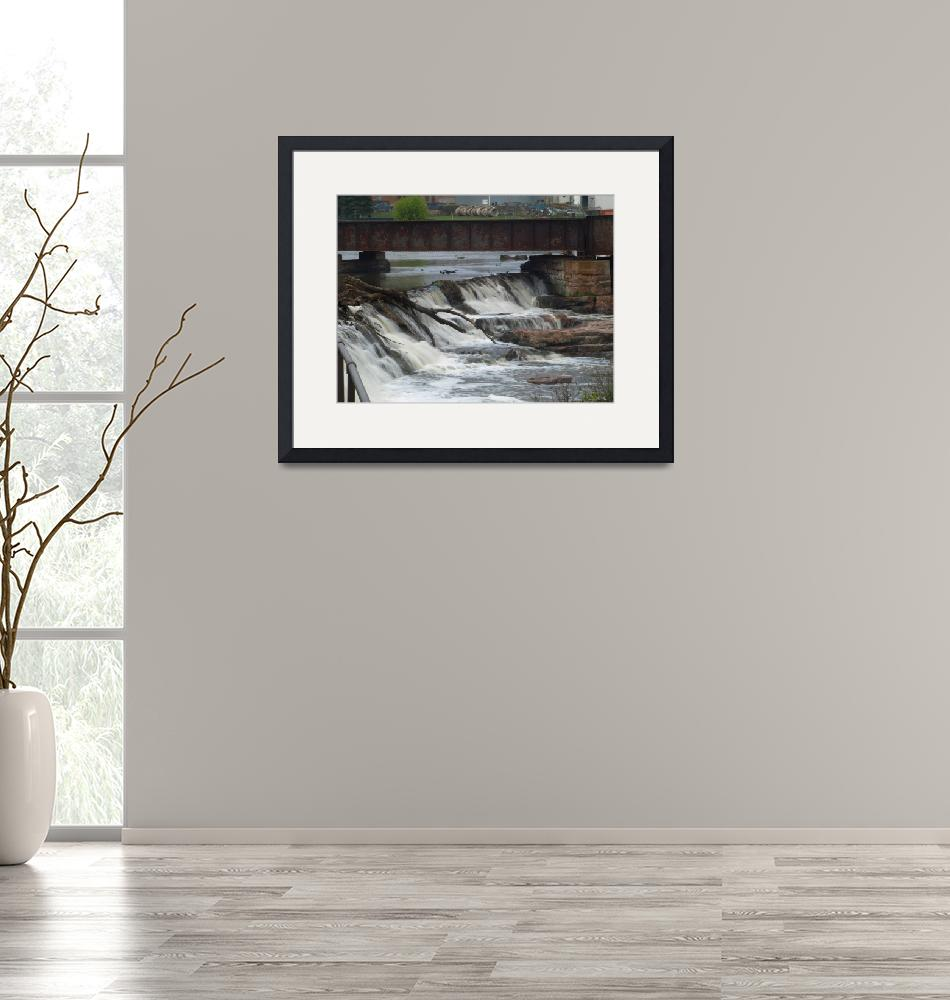 """""""Top of the Falls""""  (2010) by DryFlyPhotograhy"""