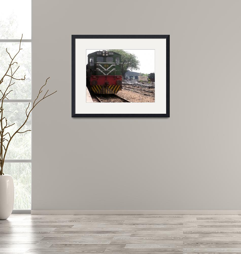 """""""Engine Number 8226""""  (2010) by bhattee"""