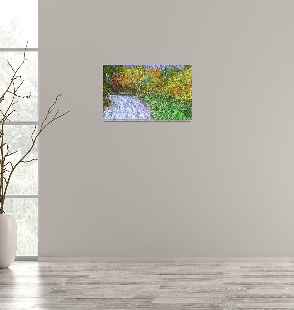 """""""Autumn Road""""  (2007) by andrewakufo"""