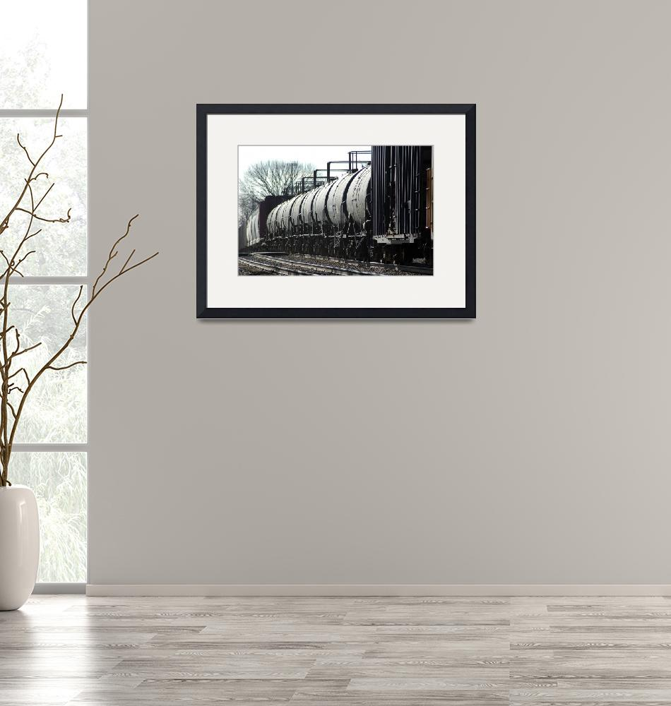 """""""Tank Cars""""  (2006) by bittersweetcottage"""