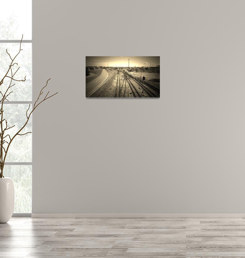 """Railroad""  (2014) by Jurchx"