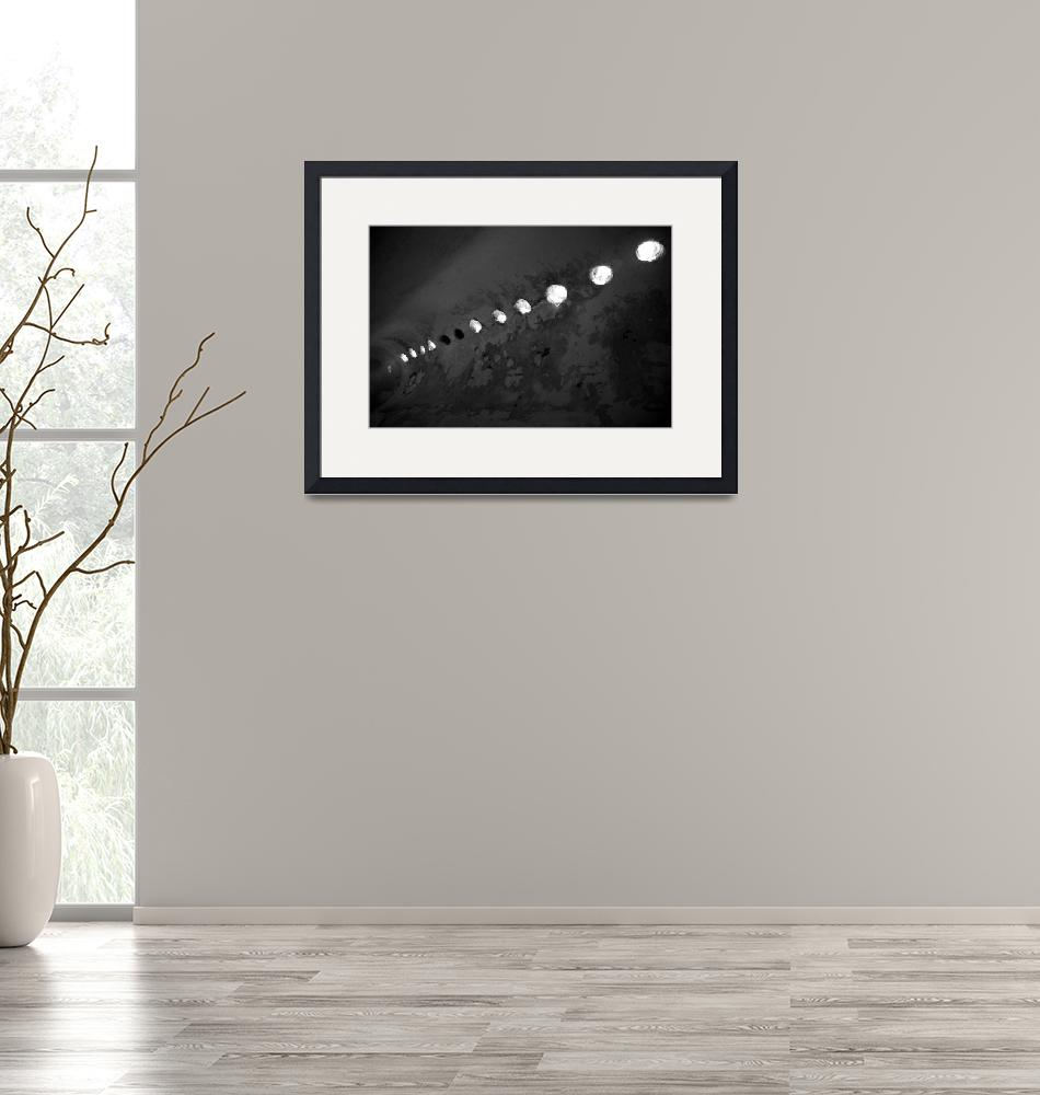 """""""Cement Arched Ceiling bw""""  (2009) by DonnaCorless"""