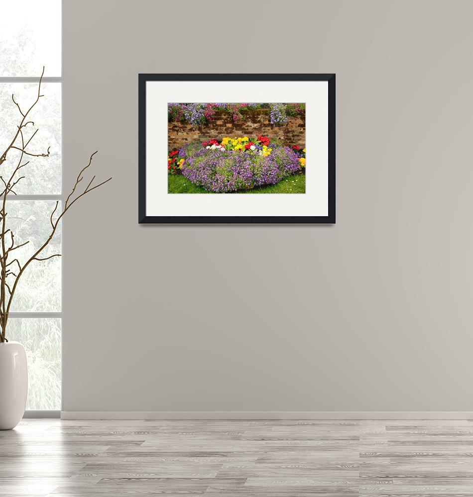 """""""Spring Flowers at the Homestead""""  (2009) by JohnGaffen"""