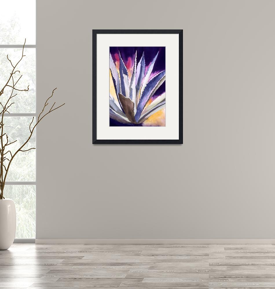 """Agave 5""  (2008) by art4fish"
