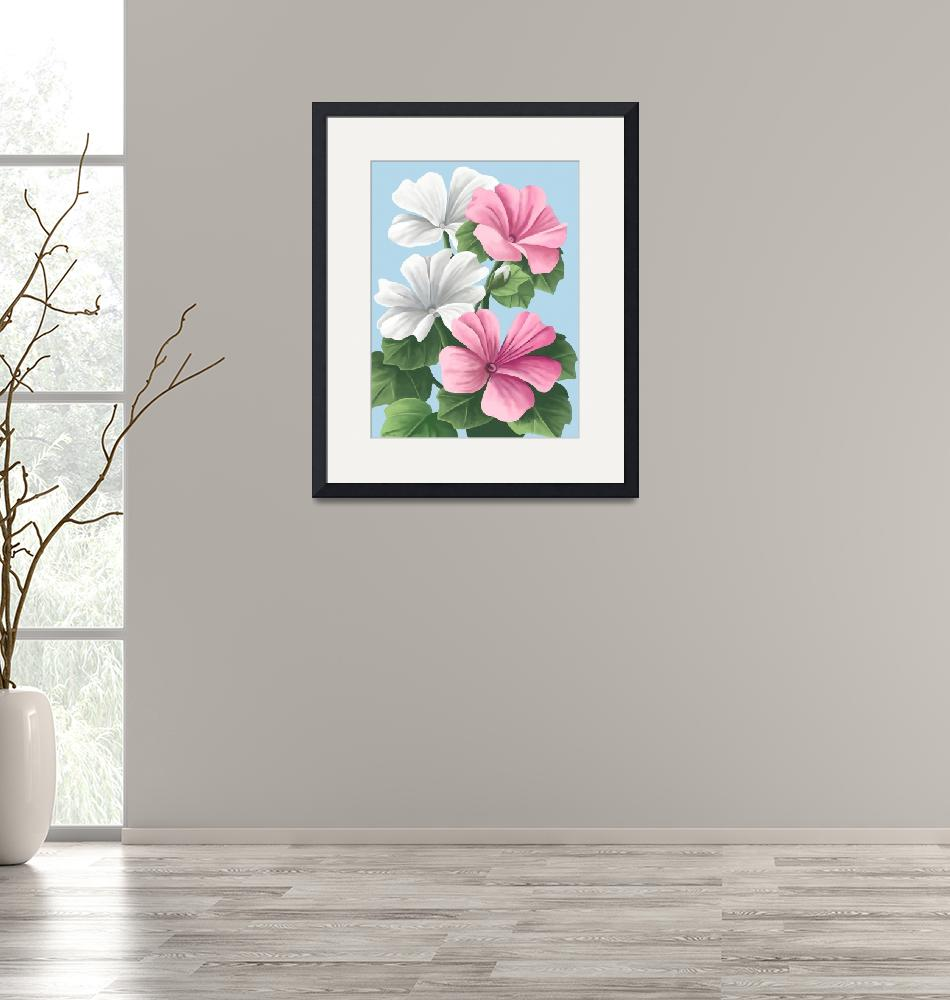"""""""Floral Painting""""  by waterart"""