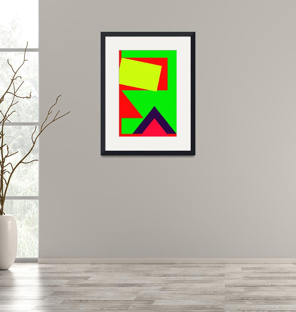 """""""Color Combination of Geometric Abstraction No 2 by"""" by motionage"""