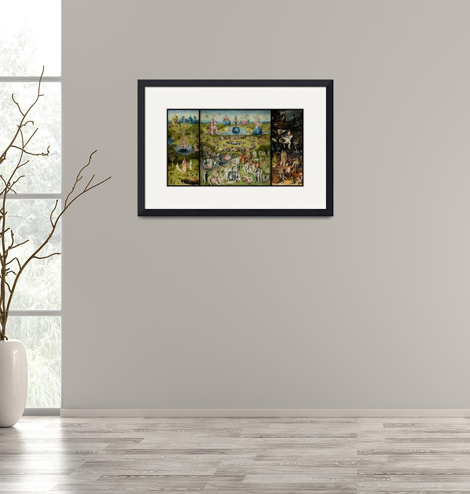 """""""Hieronymus Bosch The Garden Of Earthly Delights""""  by artpictures"""