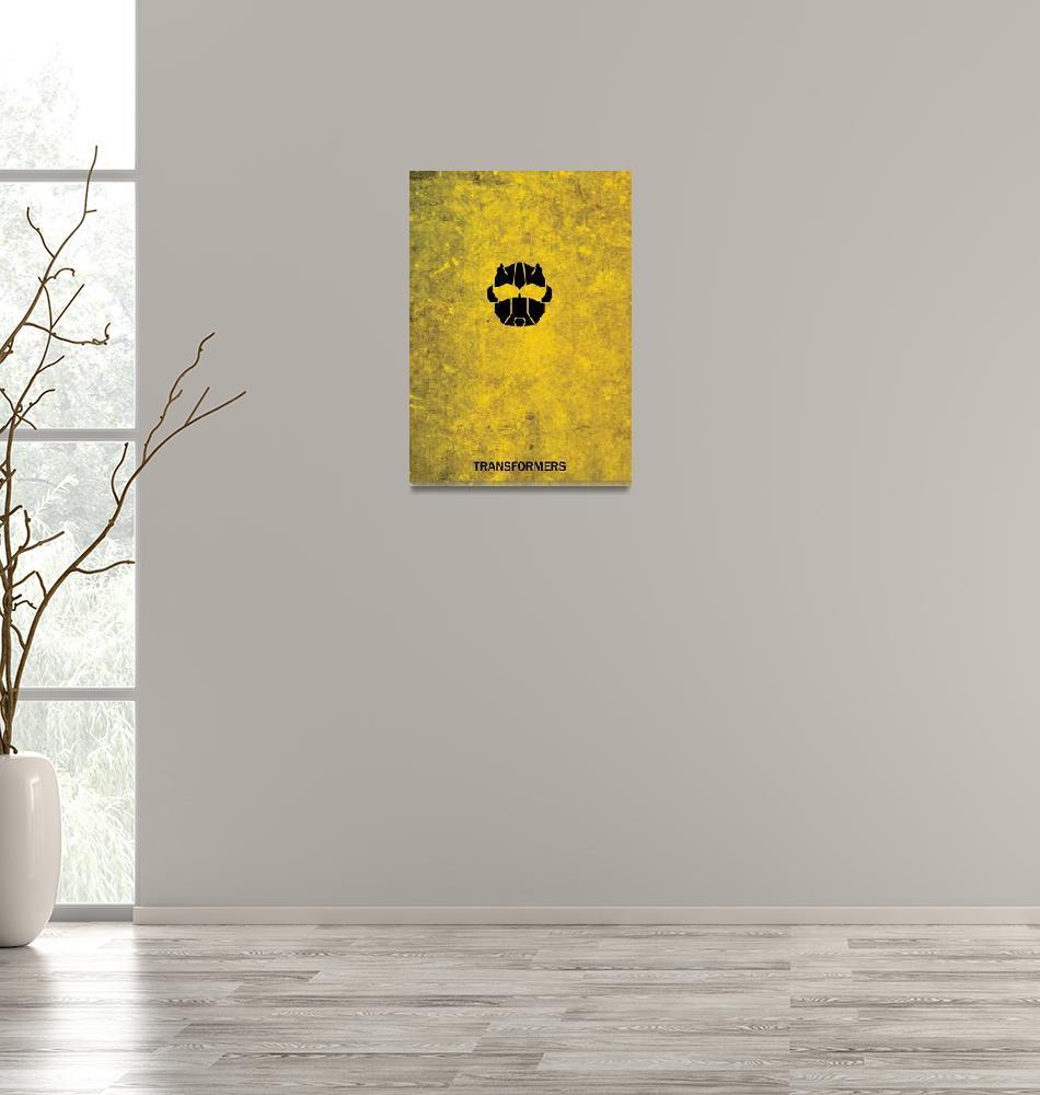 """Transformers minimalist bumblebee""  (2012) by PaulKemp"