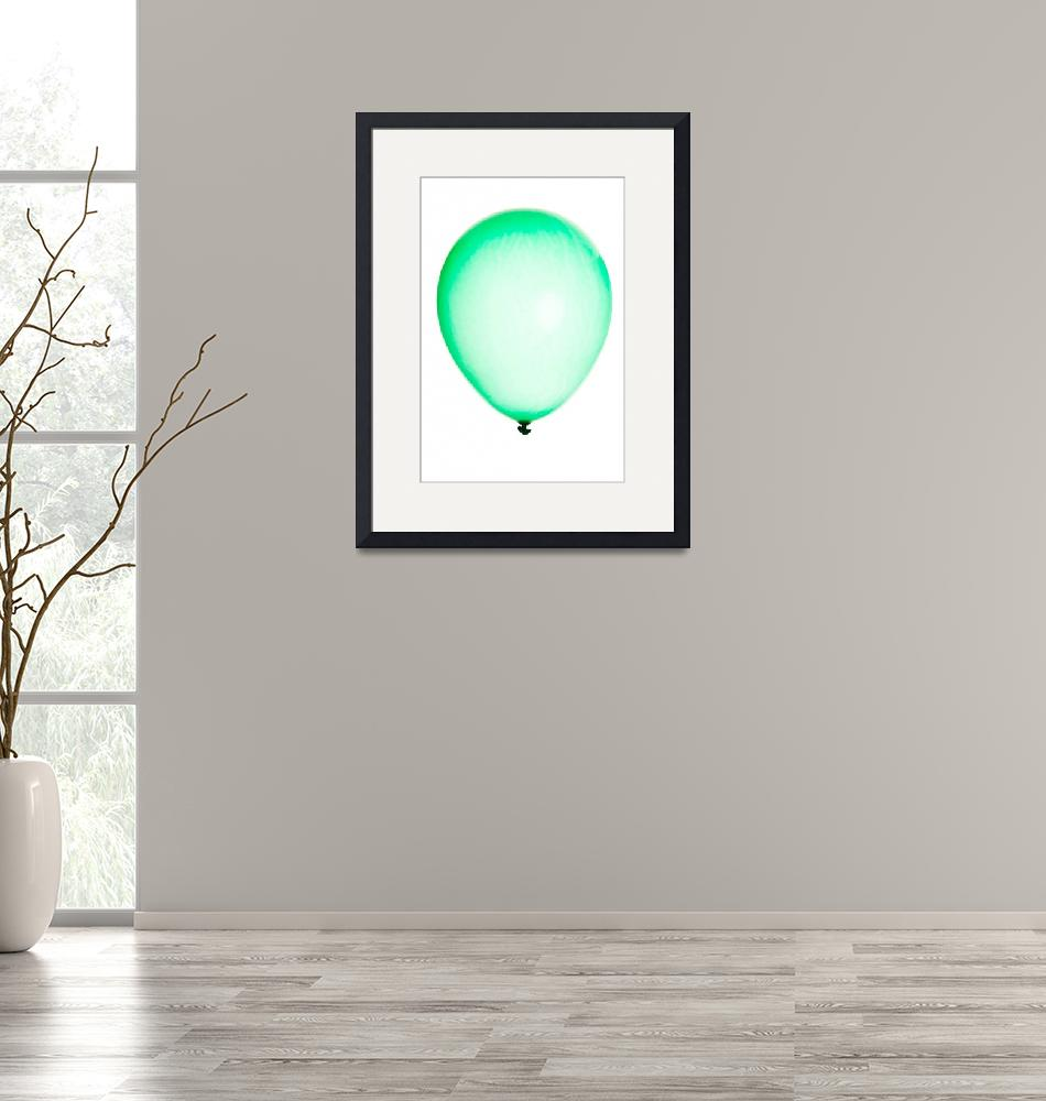 """""""Inflatable balloon isolated on white""""  by Piotr_Marcinski"""