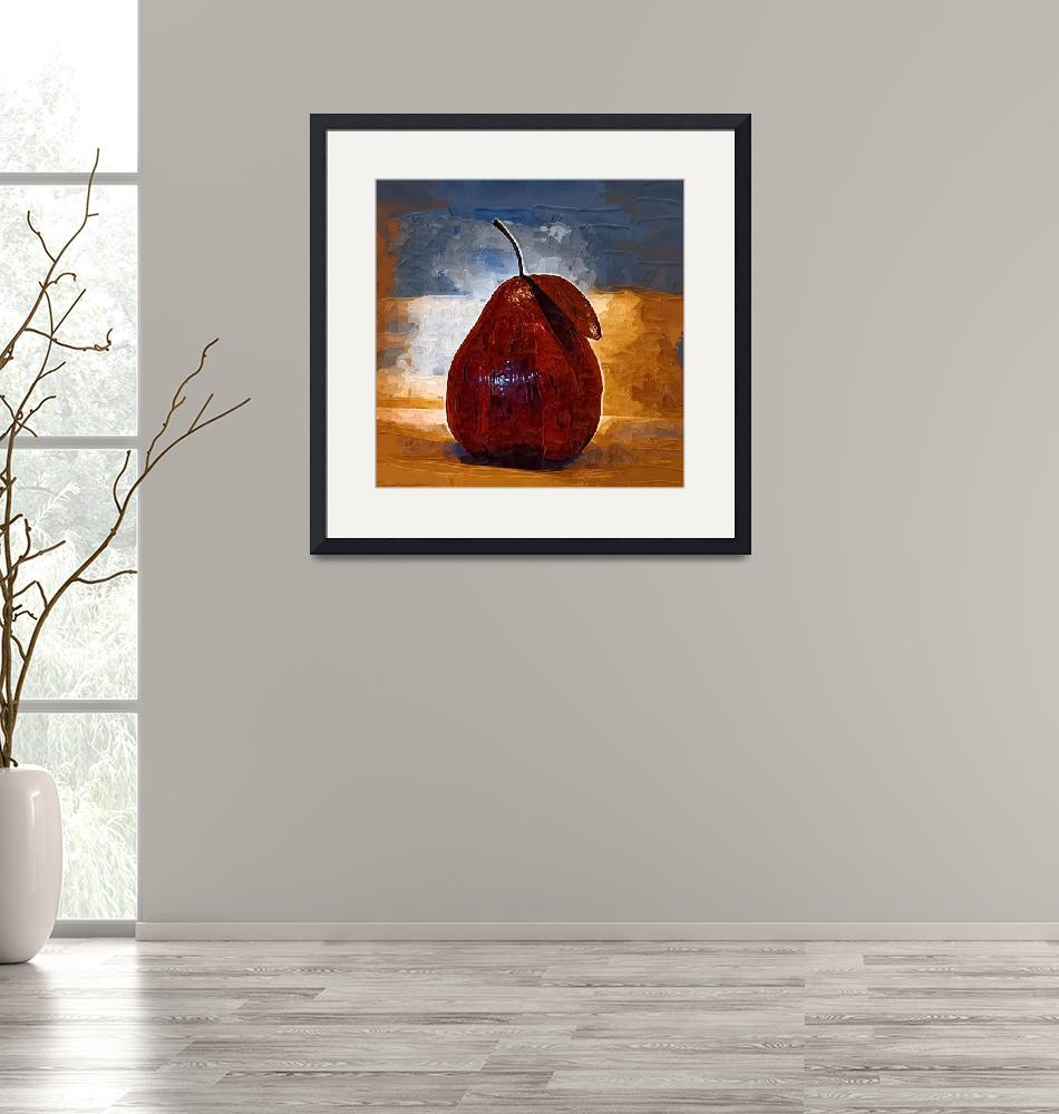 """""""The Red Pear""""  (2013) by Kirtdtisdale"""