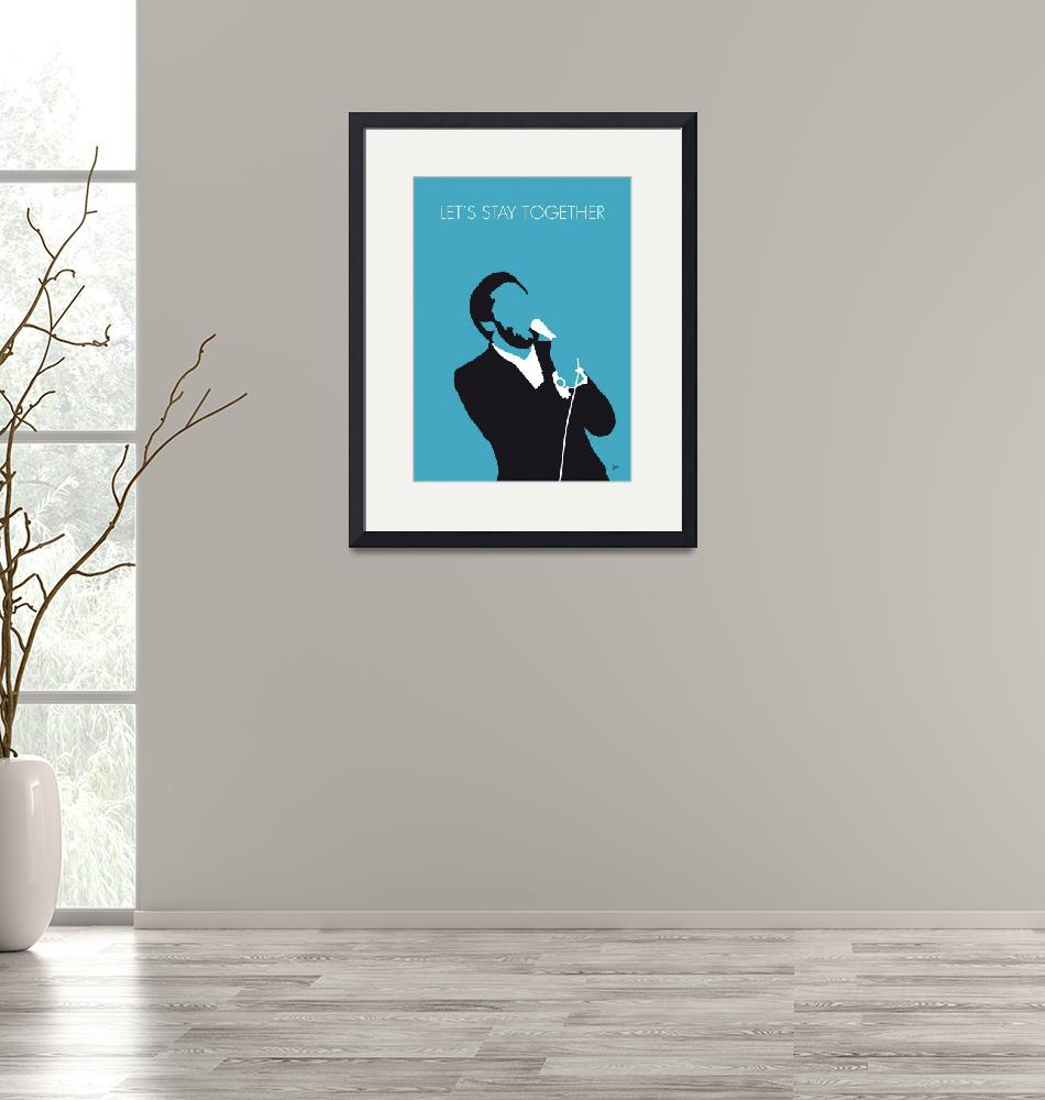"""No135 MY AL GREEN Minimal Music poster"" by Chungkong"