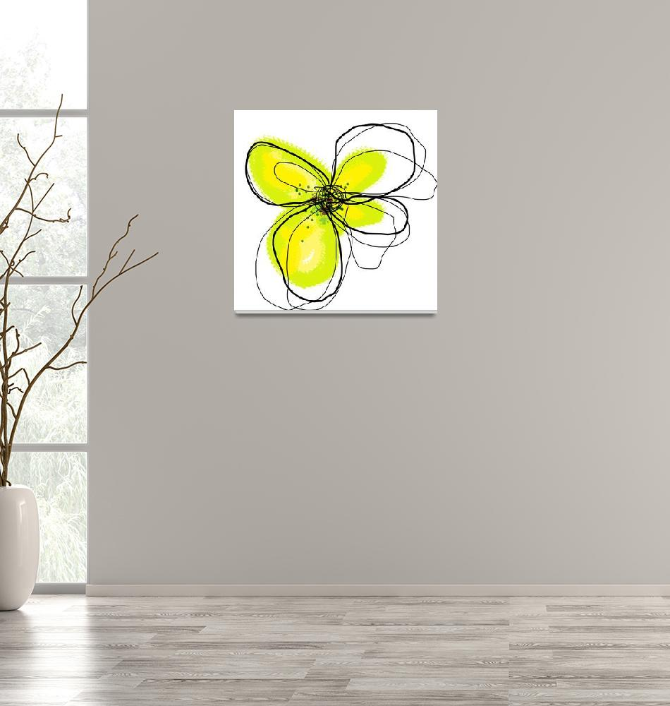 """""""Yellow Petals 1"""" (2009) by TuesdayMoon"""
