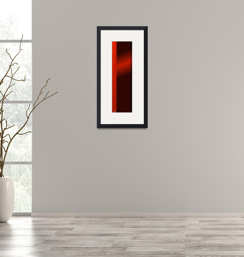 """""""vertical red""""  (2014) by archangelus"""