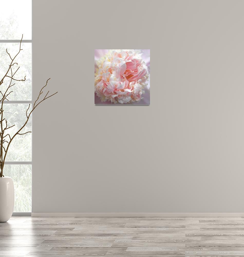 """Pink Parfait Peony""  (2019) by JessicaJenney"
