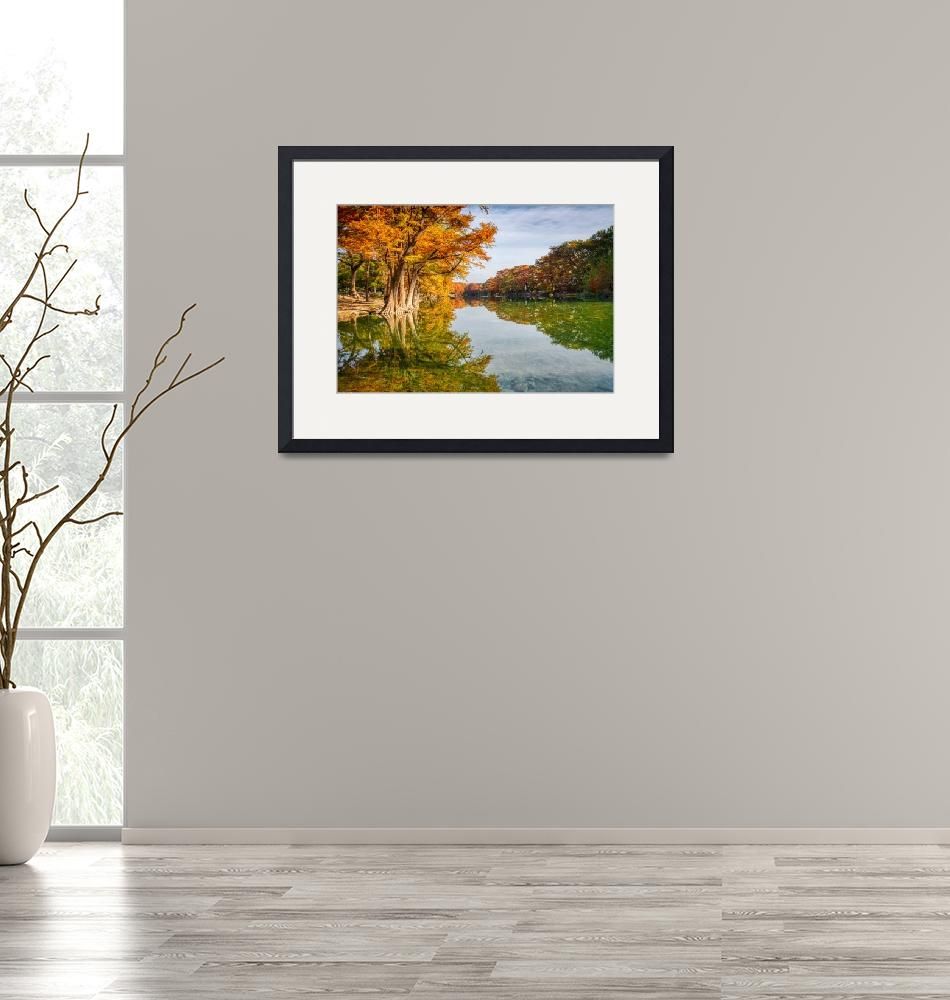 """""""Scenic Fall Frio River"""" (2019) by beecreekphotography"""