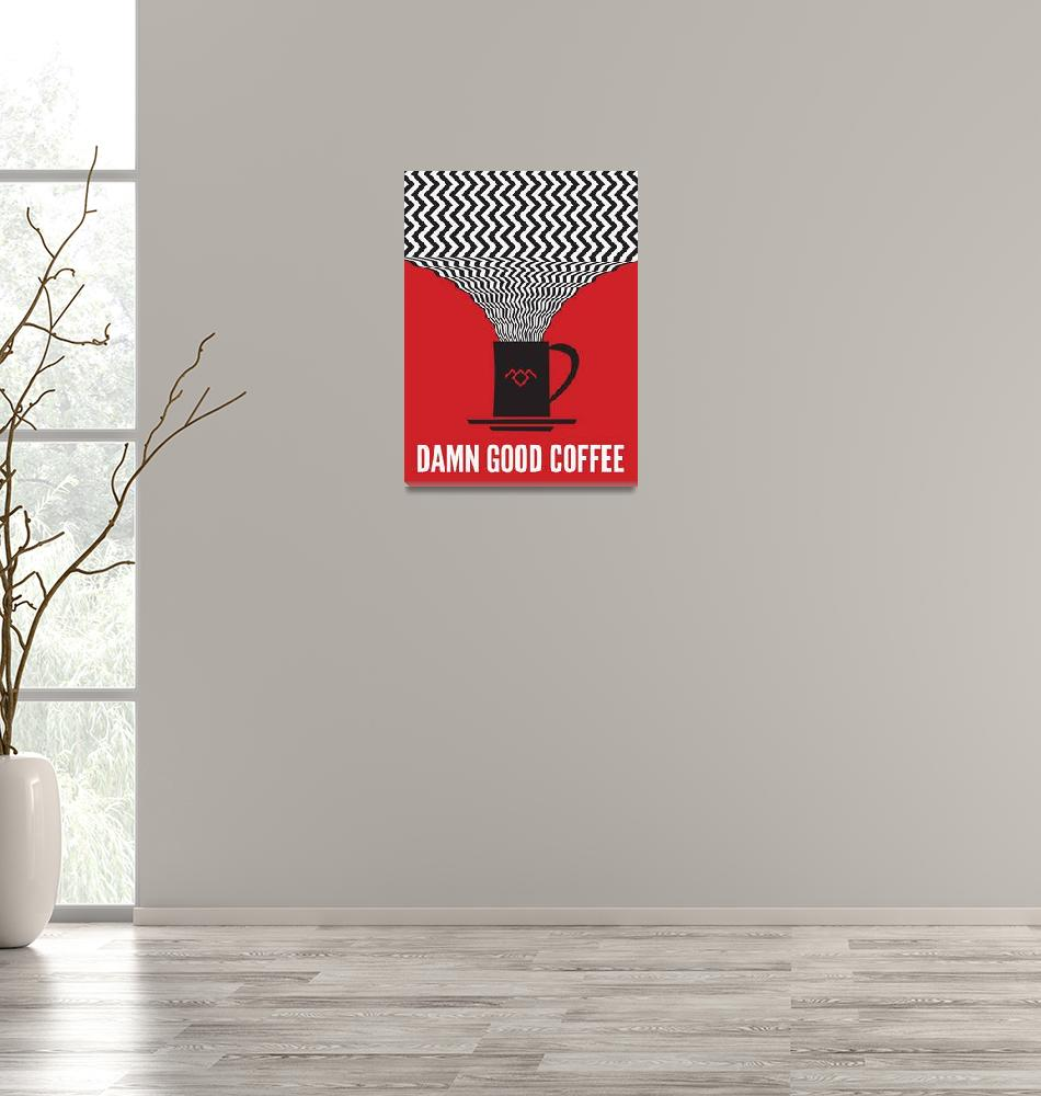 """Twin Peaks Poster""  (2014) by deansauls"