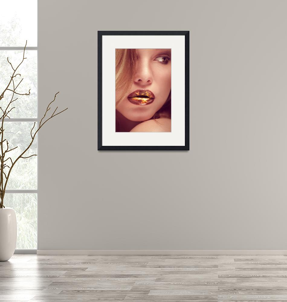 """""""hot lips""""  (2012) by photoplace"""