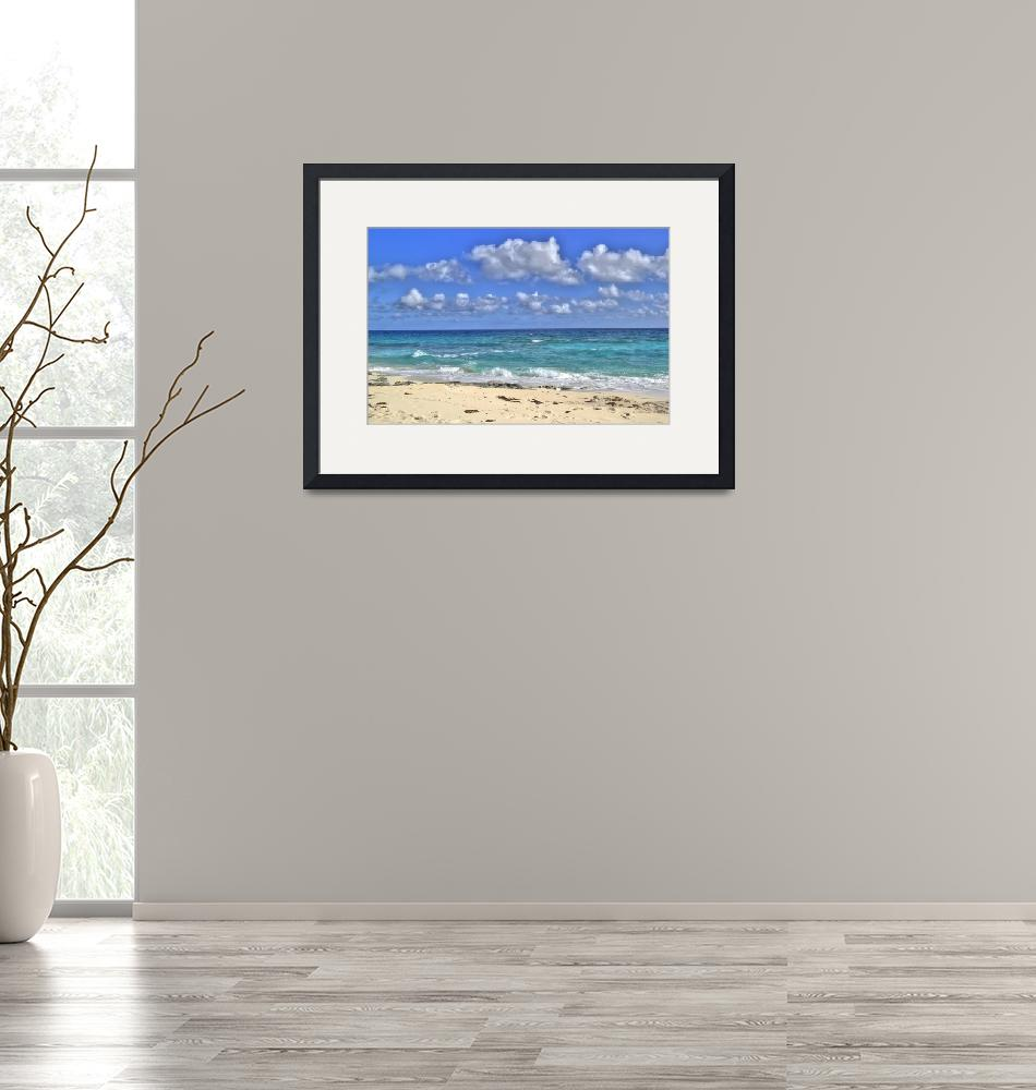 """""""Holiday Beach""""  (2009) by johnfrench"""