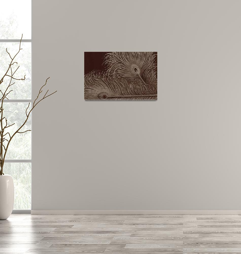 """""""Full Bloom Sepia""""  (2005) by ASG"""