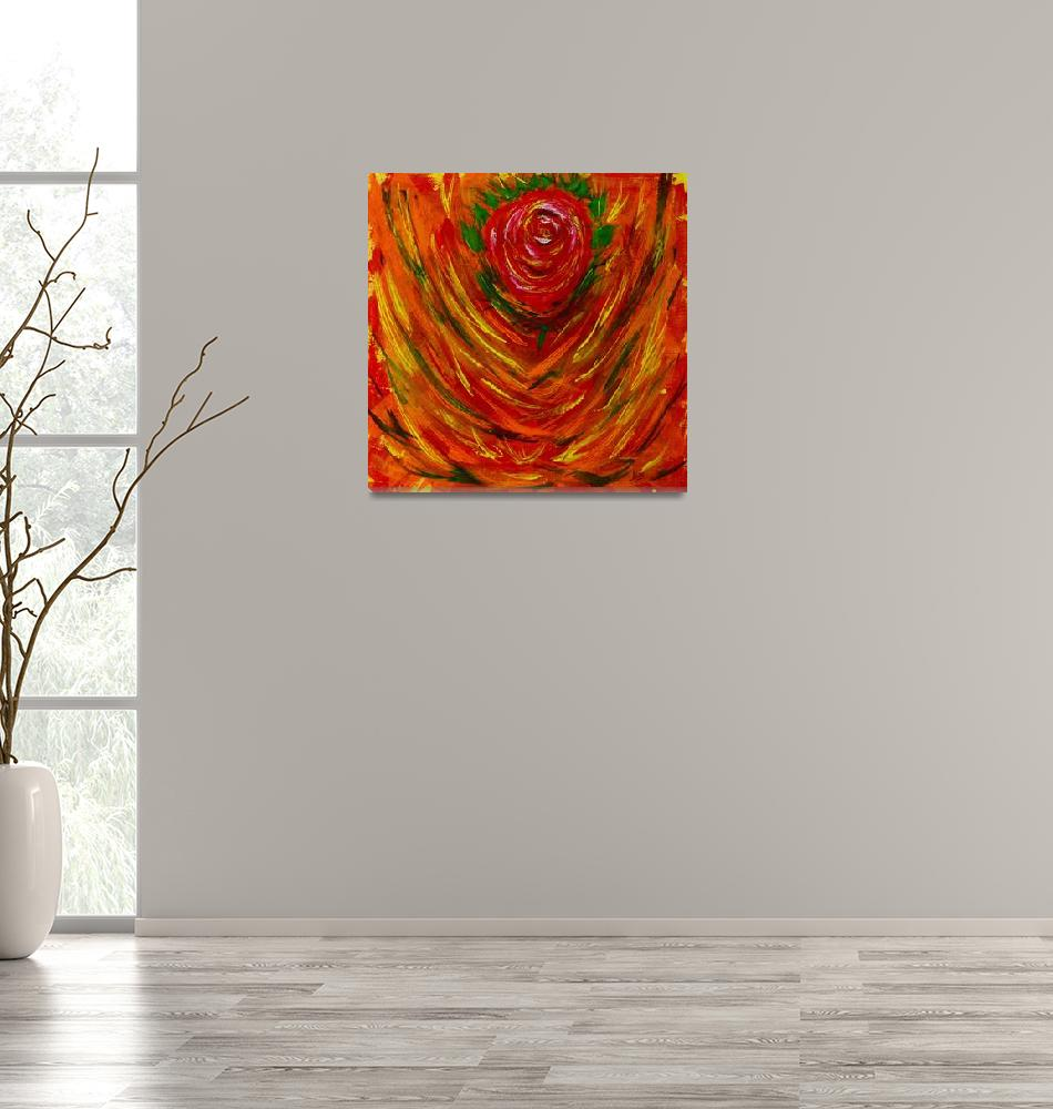 """""""The Rose From The Fire""""  (2015) by Karbstein"""